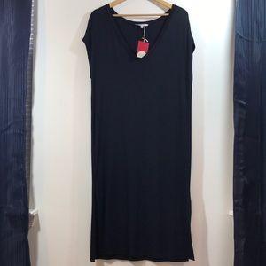 T-Shirt Double Side Slit Dress